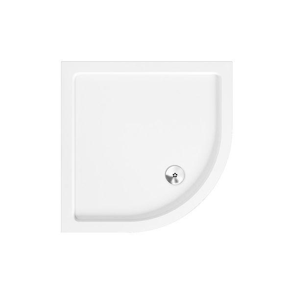 800 x 800 Quadrant Low Profile Shower Tray - KRQ0808L
