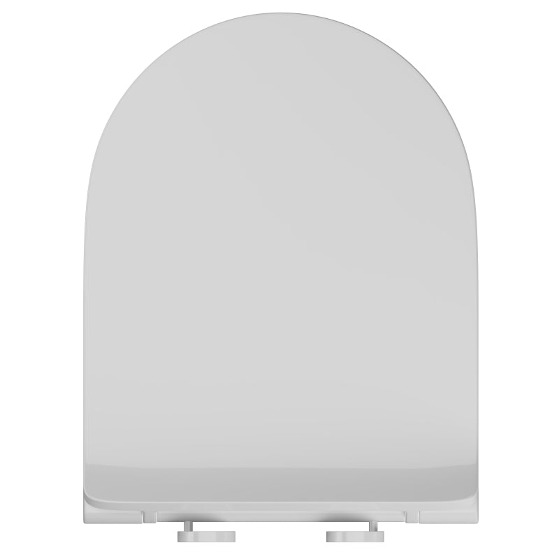 Top Fix D-Shaped Slimline Soft Close Toilet Seat - SEA005