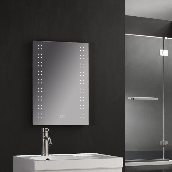 700x500mm Mirror with Shaver Socket & Bluetooth Speakers - ABS3001-B