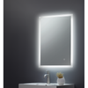 Alfie Square Mirror LED Edge c/w Demister Pad, Shaver Socket, Bluetooth & USB Charger - 500x700x78mm - TIS3037