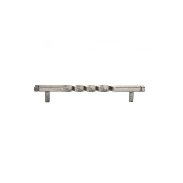 Antique Pewter Twist T Bar Handle - KBR916