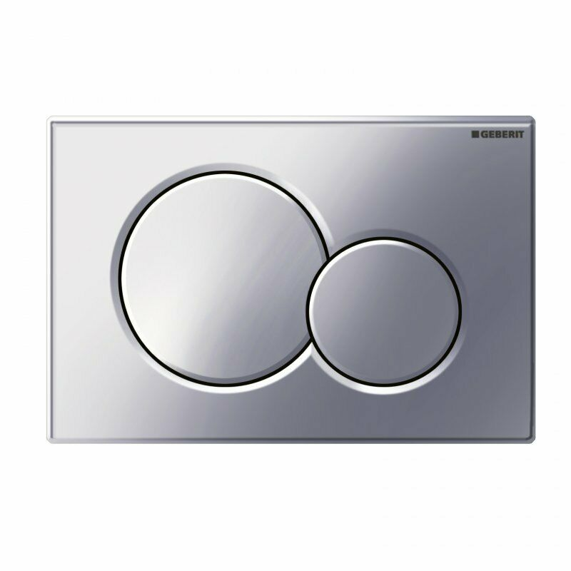 Geberit Sigma01 Dual Flush Plate Gloss Chrome - 115.770.21.5