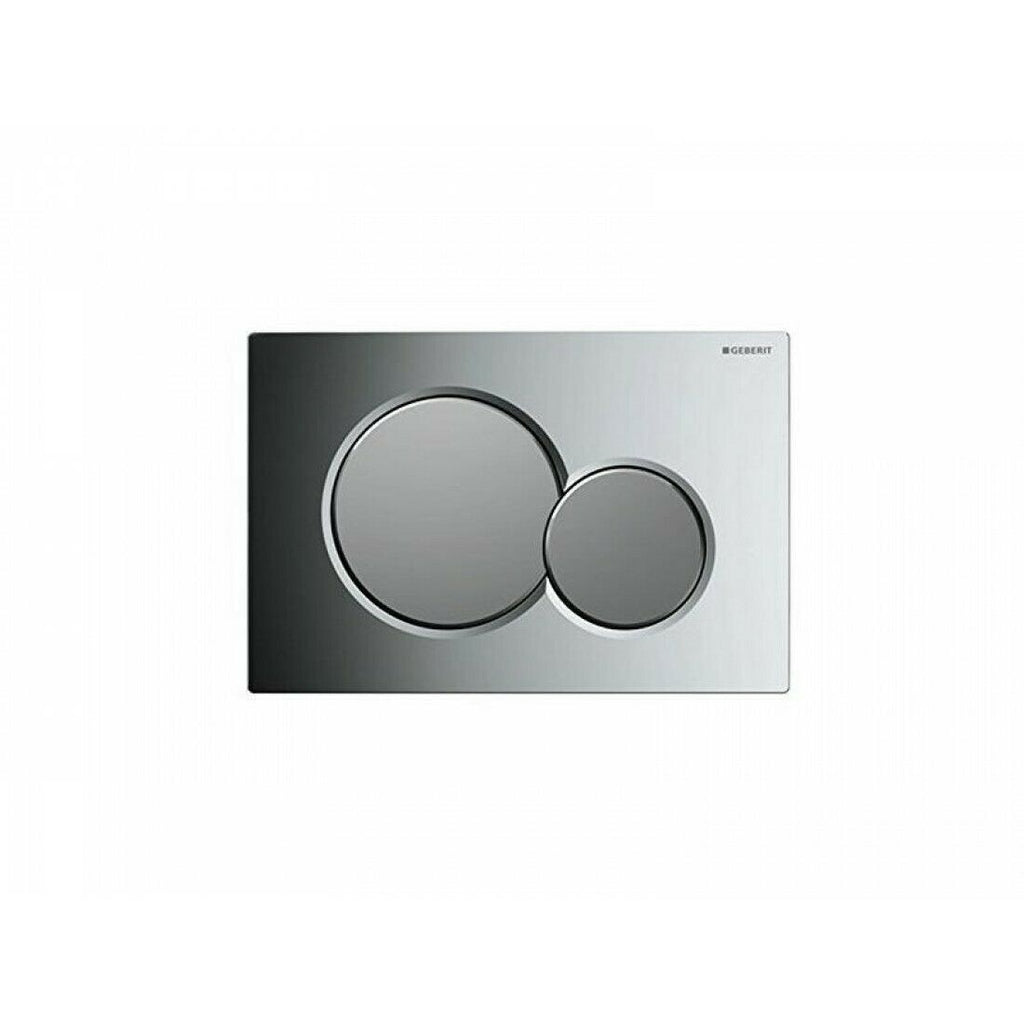 Geberit Sigma01 Dual Flush Plate Gloss/Matt Chrome - 115.770.KA.5