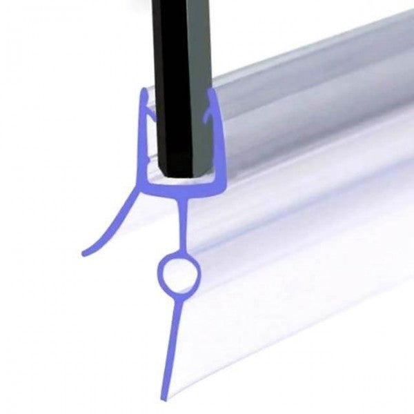 Essentials Bath Screen Seal 23mm Gap for 4-6mm Glass - 708.115.003