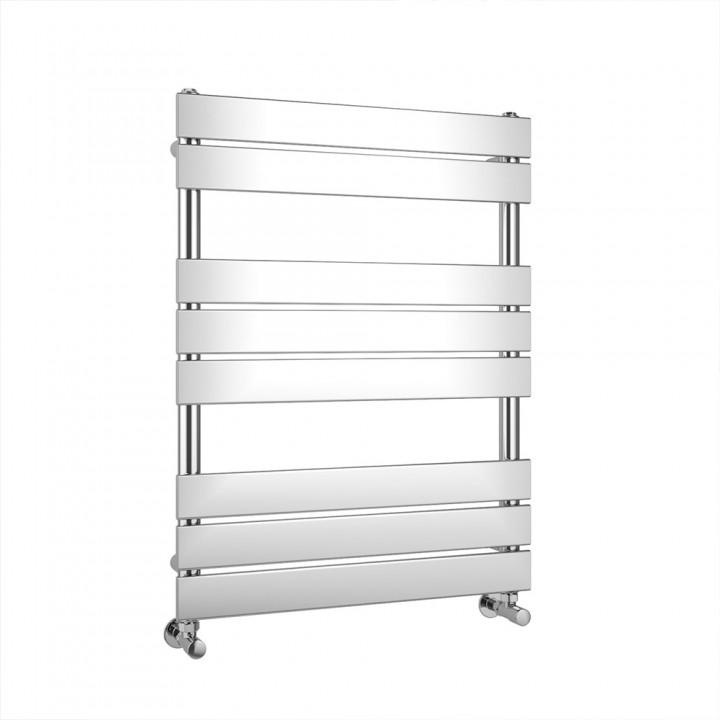 Chrome Flat Panel Heated Towel Rail 800 X 600mm - ABS2075