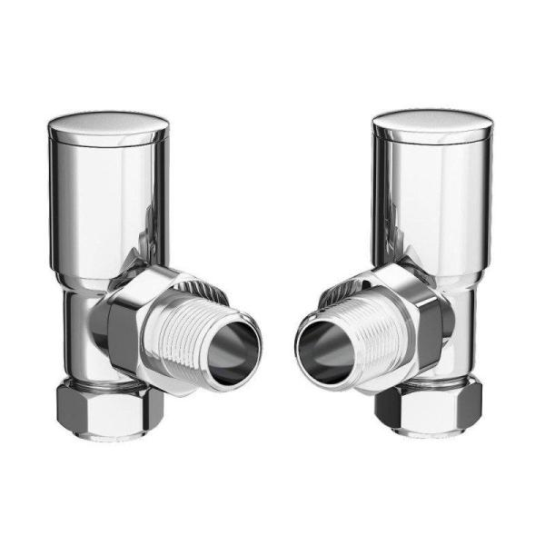 Kartell 15mm Angled Radiator Valves (Pair) - KART-ANG