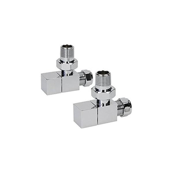 Kartell Cube Angled Valves (Pair) - CUBE-ANG