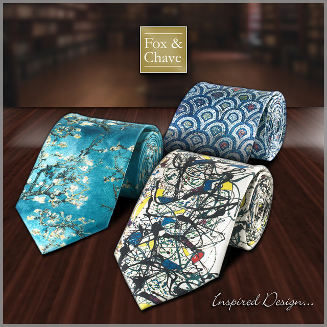 Fine Art Ties from Fox & Chave