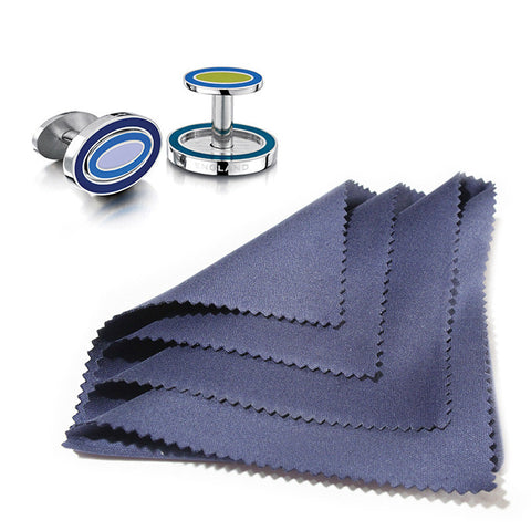 Cleaning Cloth and Cufflinks
