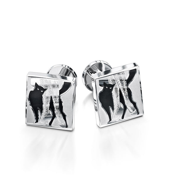 Cat & Stockings Cufflinks