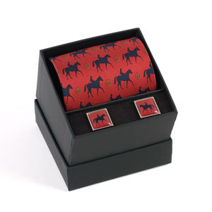Bookies Favourite Tie & Cufflink Set