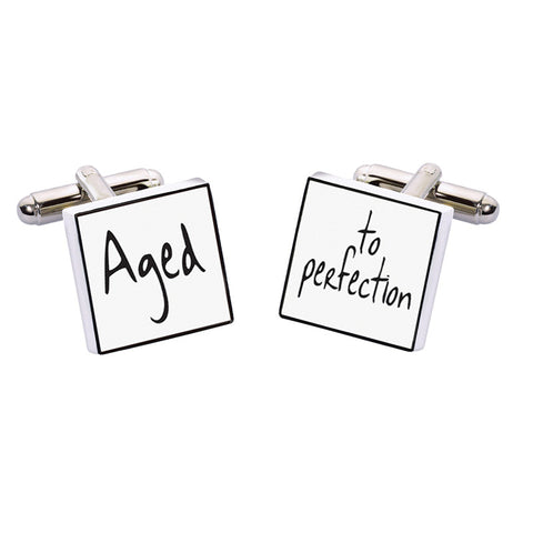 Aged to Perfection Cufflinks