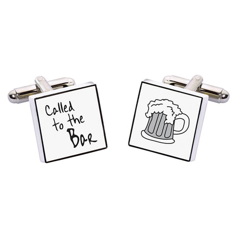 Cheers Cufflinks - Called To The Bar