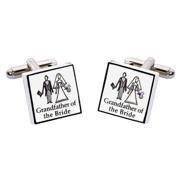 Grandfather of the Bride Cufflinks