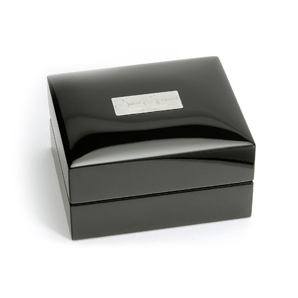 Polished Steel Collection Box - Closed