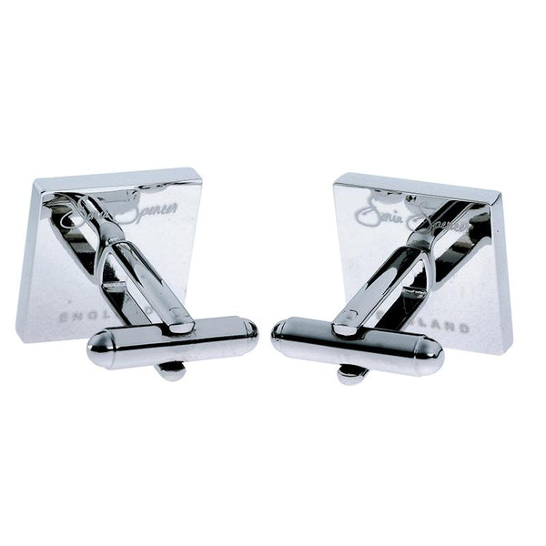 Square Cufflinks - Reverse View