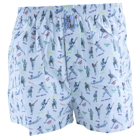 Cricket Cotton Boxer Shorts