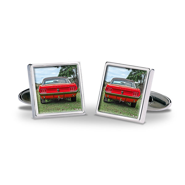 Personalised Photo Cufflinks - Car