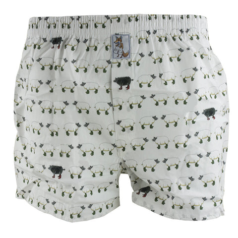 Boxer Shorts - Sheep in Wellies