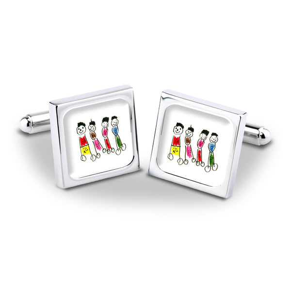 Talented Tots Cufflinks - Example 2