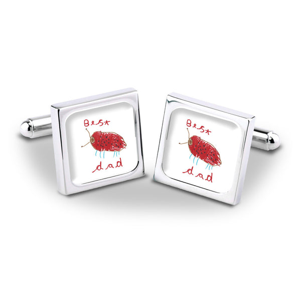 Talented Tots Cufflinks - Example 1