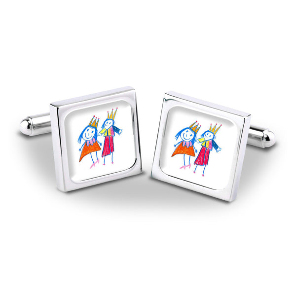 Talented Tots Cufflinks - Example 3
