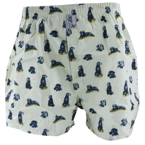 Black Labrador Boxer Shorts