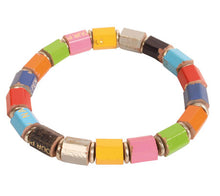 Recycled Coloured Pencil Bracelet