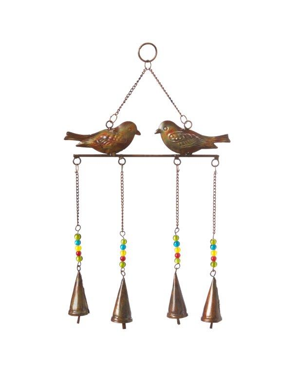 Bird and Bell Wind Chime