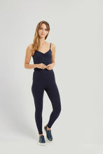 Organic Navy Leggings by People Tree