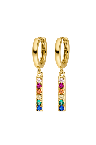 Earrings 18k gold plated