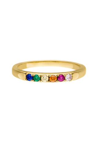 Rings 18k gold plated