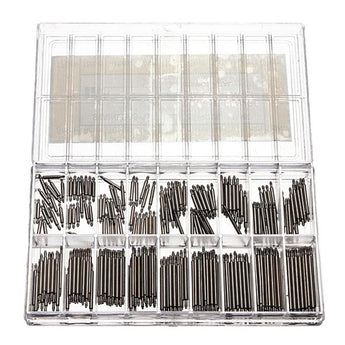 360 Pcs Stainless Steel Watch Spring-Bars 8-25mm