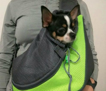 Comfortable Mesh Travel Tote Puppy Bag