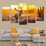 Elk/Nature HD Canvas Wall Art FREE SHIPPING