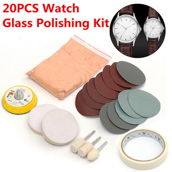 20Pcs Watch Glass Polishing Kit