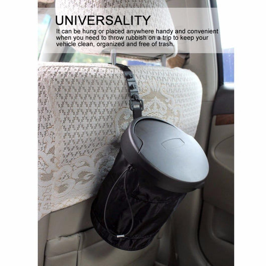 ValetMaster™ In-Car Trashcan