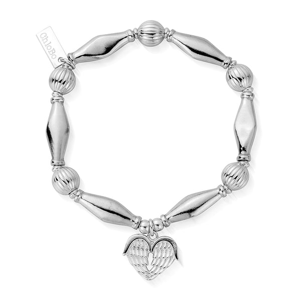 ChloBo Heavenly Heart Bracelet SBCHP921 - Village Boutique