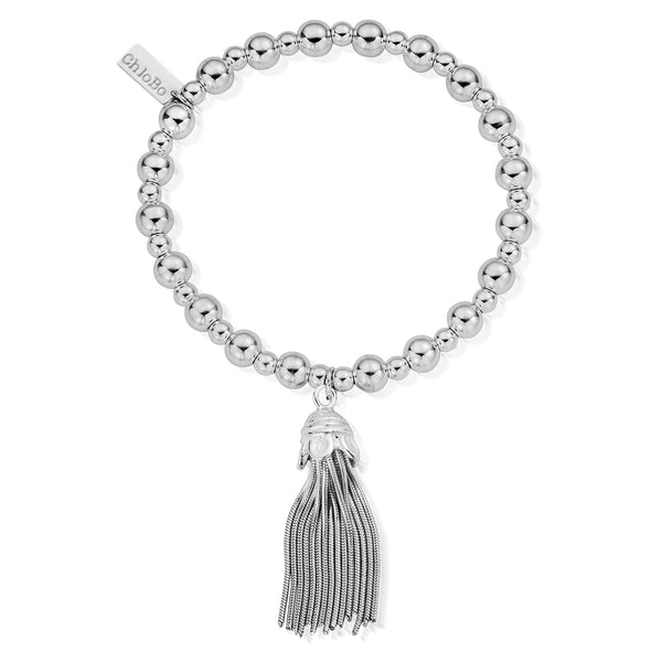 ChloBo Mini Small Ball Tassel Bracelet SBMSB933 - Village Boutique