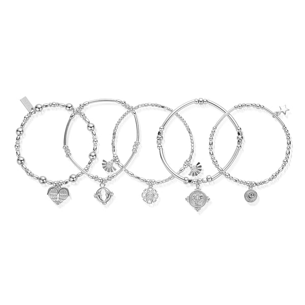 ChloBo Silver Ariella Set OF Five SBSTA5A - Village Boutique