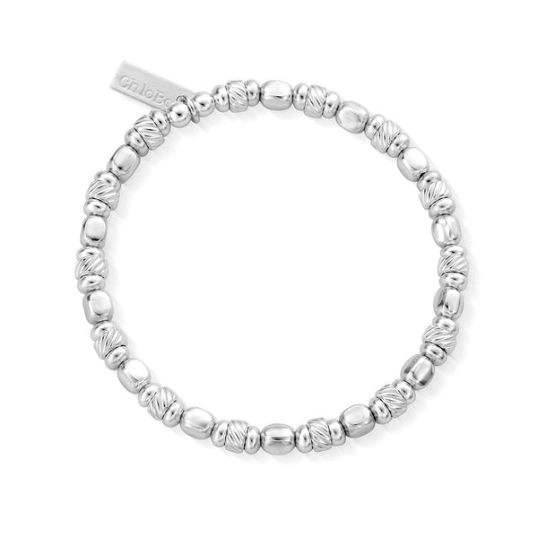ChloBo Twisted Cube Filler Bracelet SBTCUBE - Village Boutique