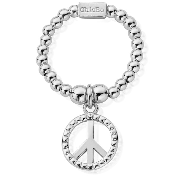 ChloBo Stud Peace Ring SRM2124 - Village Boutique