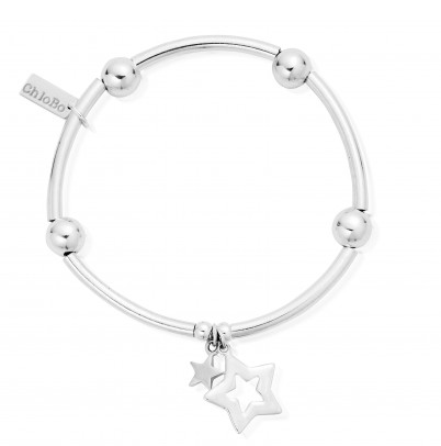 ChloBo Noodle Ball Double Star Bracelet SBNB806812 - Village Boutique