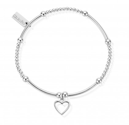 ChloBo Cute Mini Open Heart Bracelet SBCM007 - Village Boutique