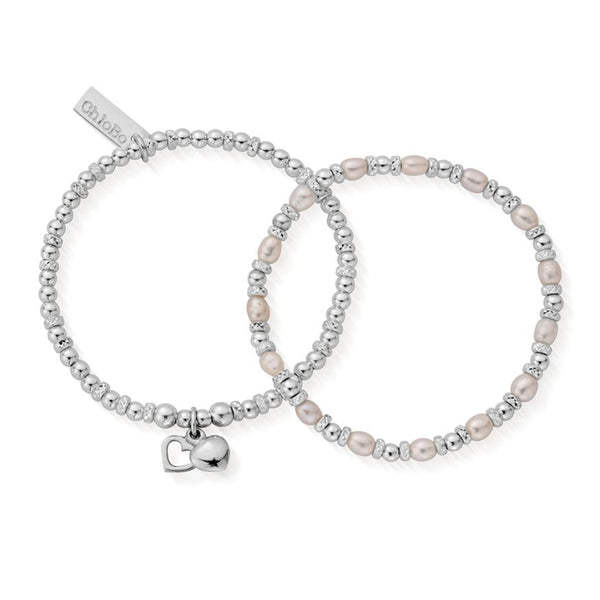 Chlobo Forever Love Set Of Two Bracelets SBSETFOREVER18
