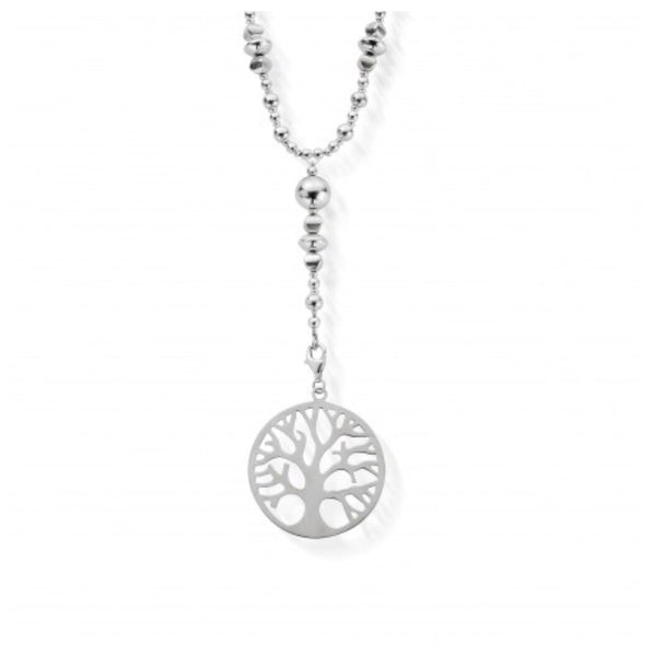 ChloBo Moss Necklace with Tree Of Life Pendant - Village Boutique