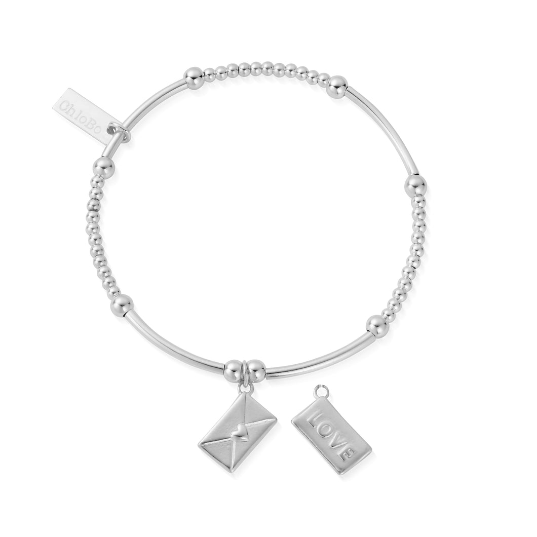 ChloBo Cute Mini Love Letter Bracelet SBCM2105