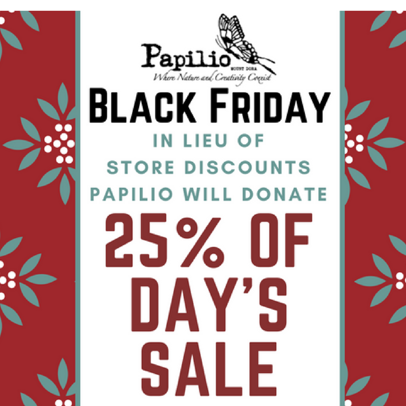 Black Friday Holiday Shopping with a Cause
