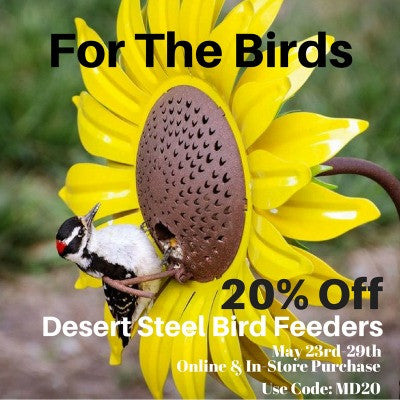 For The Birds - 20% Off Bird Feeders
