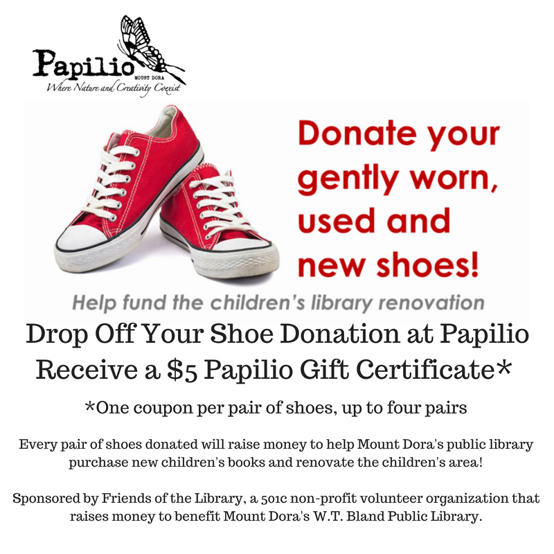 Soles for a Cause! Taking Shoes Donations